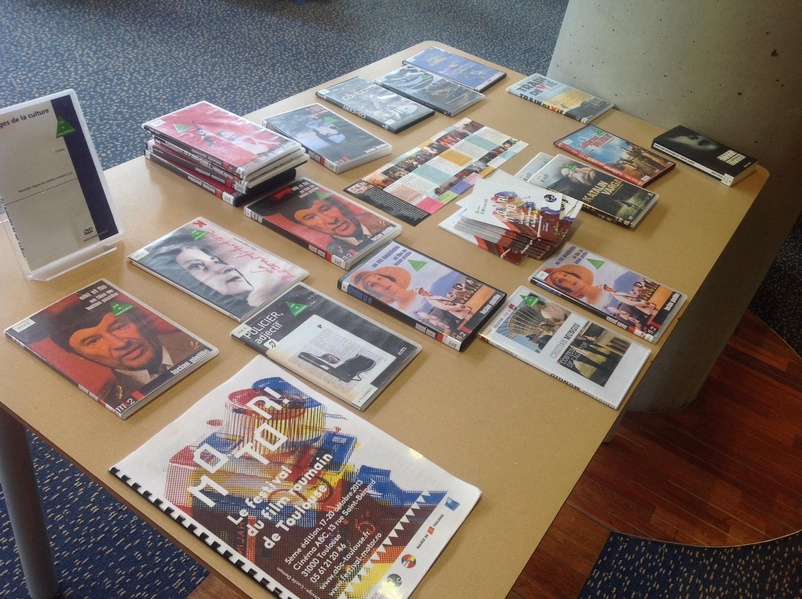 Une sélection roumaine à la médiathèque Cabanis
